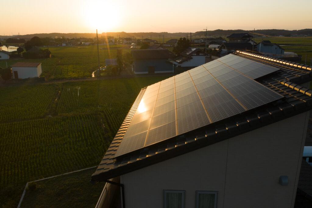 茨城県水戸市太陽光蓄電池施工事例